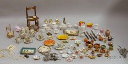 Miscellaneous Lot of Doll and Dollhouse Items