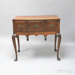 Queen Anne Cherry High Chest Base