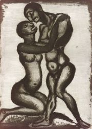 Georges Rouault (French, 1871-1958)  Les Amants