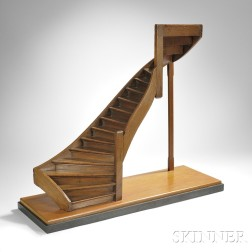 Architectural Model of a Staircase