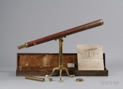 2 3/4-inch Library Telescope by Dollond