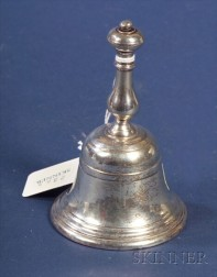 English Silver Table Bell