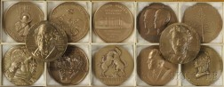 Twelve Assorted Bronze Medals