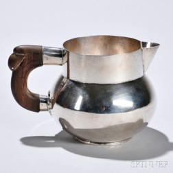 Mexican Sterling Silver Pitcher