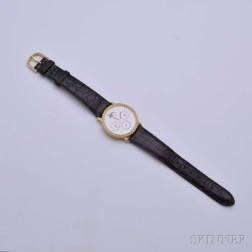 Jean d'Eve 18kt Gold and Diamond Lady's Wristwatch