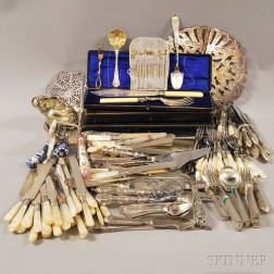 Large Group of Assorted Flatware