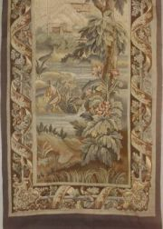 Continental Aubusson-style Tapestry Panel