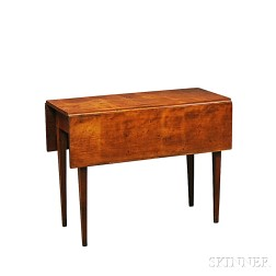 Country Federal Cherry Drop-leaf Table