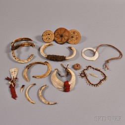 Collection of Small New Guinea Items