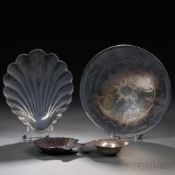 Three American Sterling Silver Dishes