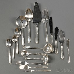 Towle Madeira   Pattern Sterling Silver Flatware Service
