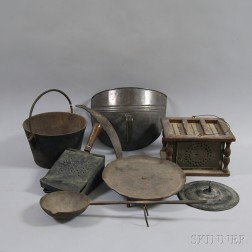 Group of Early Iron Domestic Items