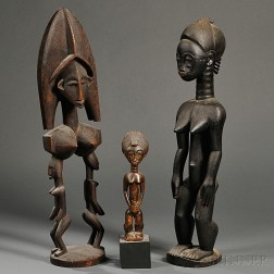 Three African Carvings