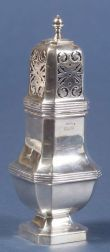 George IV Silver Muffineer