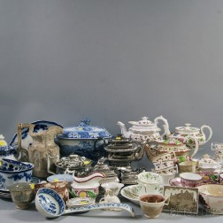 Large Group of Miscellaneous Porcelain and Pottery Items
