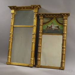 Two Federal Split-baluster Mirrors