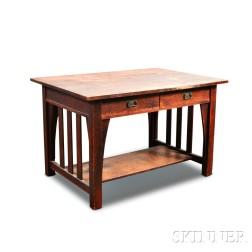 Stickley & Brandt Arts and Crafts Desk