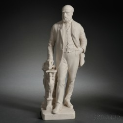 Mintons Parian Figure of Colin Minton Campbell