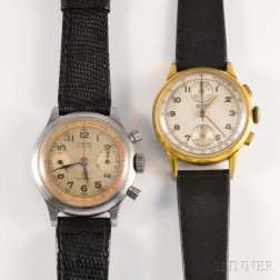 Two Chronograph Wristwatches