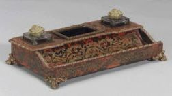 French Boullework Inkstand