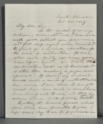 Davis, Jefferson (1808-1889) Archive of Correspondence with John W. French (1808-1871)
