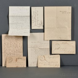 Davis, Jefferson (1808-1889) and Varina Banks Howell Davis (1826-1906)   Archive of Correspondence