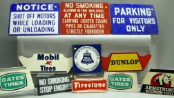 Eleven Auto Related Signs