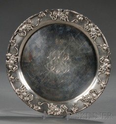 Frank Smith Sterling Cake Plate