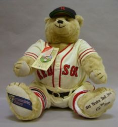 "Collector's ""1939 Boston Red Sox Cooperstown Teddy"" Bear"
