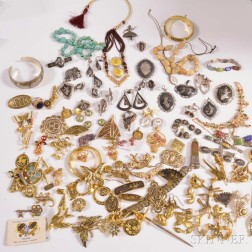 Group of International Sterling Silver Jewelry