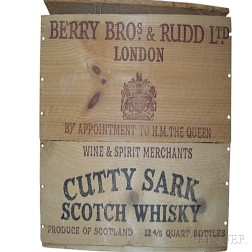 Cutty Sark Full Wooden Crate, 12 750ml bottles