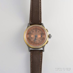 Wakmann Opal Three-pusher Flyback Chronograph