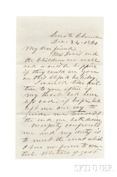 Davis, Jefferson (1808-1889) and John W. French (1808-1871)   Archive Related to their Association