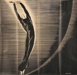 Seven Modern Dance Posters, Mostly Ted Shawn and Martha Graham:      Major Felten (American 1904-1978), Shawn and His Dancers