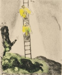 Marc Chagall (French/Russian, 1887-1985)      Jacob's Ladder