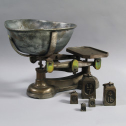Steel and Brass Scale