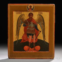 Russian Icon of the Holy Archangel Michael