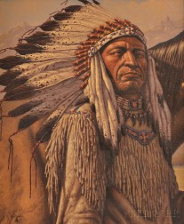 Fred Duran (American, 1943-1997)      American Indian Chief