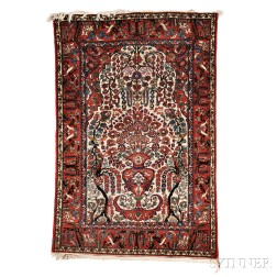 Pictorial Central Persian Rug