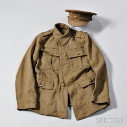 Universal Service Dress Jacket and Cap, Coldstream Guards