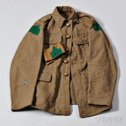 Universal Service Dress Jacket, 47th Canadian Battalion