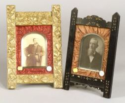 Two Aesthetic Movement Picture Frames