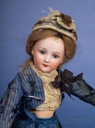 Cuno & Otto Dressel Bisque Character Lady
