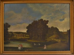 British School, 18th/19th Century      View of an Estate, Possibly Chelmsford, England