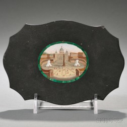 Paperweight with Micromosaic of St. Peter's Square