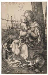 Albrecht Dürer (German, 1471-1528)      The Virgin and Child Seated by a Tree