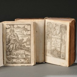 Rome, Two Illustrated Guides to the Ancient City, 1645 and 1769.