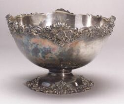 Durgin Sterling Silver Punch Bowl