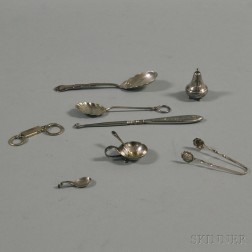 Small Group of Sterling Silver Items