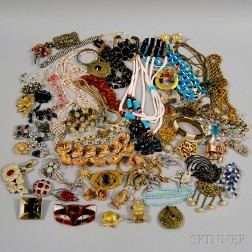 Extensive Collection of Vintage Costume Jewelry